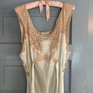 Antique Wedding Dress/Slip Dress